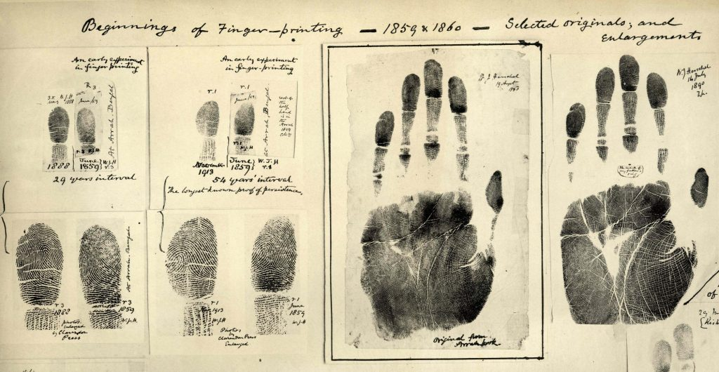 Forcing and Fingerprinting