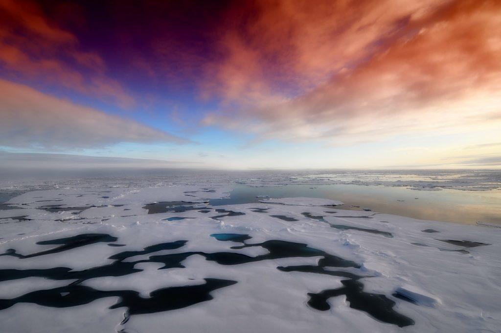 Arctic Winter Sea Ice Reaches Record Low