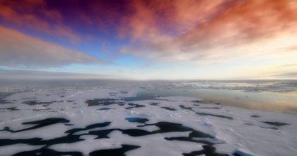 Arctic Winter Sea Ice