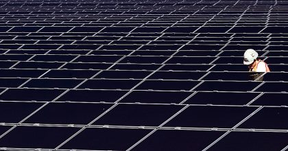 solar panels clean energy jobs
